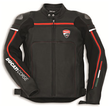 Ducati Corse C2 Black Leather Riding Jacket - Size 50  #981030050