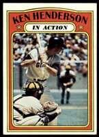 1972 Topps In Action Ken Anderson San Francisco Giants #444