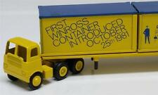 Winross First Container Truck 1981 Cargo Truck/Trailer Diecast 1:64 Freight Semi