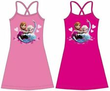 Kleid Frozen Die Eiskönigin Mädchen Sommerkleid Größe 98  140 Elsa Anna