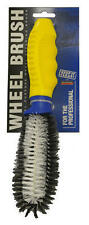 Car Alloy Steel Wheel Cleaning Brush Strong Bristles Brand Heavy Duty