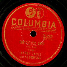Harry James Orch. one o 'clock jump/Two O' clock jump GOMME LAQUE PLAQUE 78' x3375