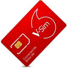 Vodafone V-SIM (smarte SIM-Karte, ideal für GPS-Tracker, LTE...