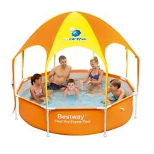 Play Swimming Pool Uv Canopy Polyester Splash in Shade Kids Spray Large