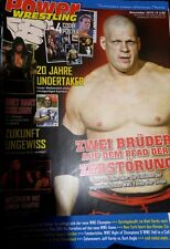 Power Wrestling November 2010 WWE WWF WCW + 4 Poster (Sheamus, Barrett, Kofi)