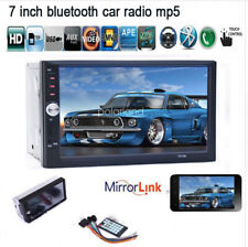 7''2 DIN Touch Screen Car Radio Audio MP5 Mirror Link Stereo Bluetooth FM/TF/USB