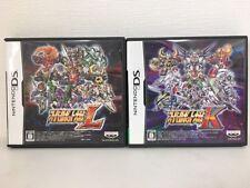 Nintendo DS Super Robot Taisen K and L Japan JP Game z2150