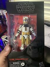 STAR WARS BLACK SERIES CLONE COMMANDER BLY