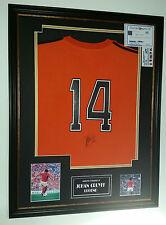 ** Johan Cruyff of HOLLAND Signed Shirt Display ** AFTAL DEALER CERT