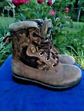 Redhead Red Head Camouflage Timberland Wilderness Hunt Trail Boots Shoes Size 12
