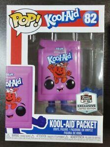 Funko Pop Kool-Aid Packet #82 Purple Shop Exclusive *IN STOCK*