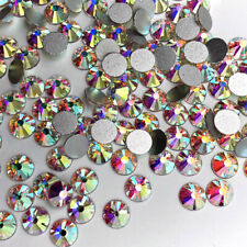 1440pcs Crystal Nail Art Rhinestones FlatBack Glitter Diamond 3D Tips Decoration