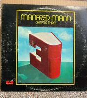 MANFRED MANN - Chapter Three, LP record, original 1969, 24-4013 -- VG+