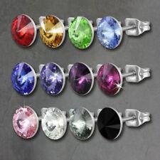 Mode-Ohrschmuck aus Stein Schönheits