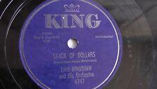 Tiny Bradshaw - 78rpm single 10-inch – KING #4747 Cat Fruit