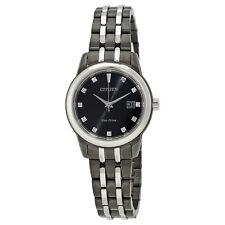 Citizen Corso Black Diamond Dial Ladies Watch EW2398-58E