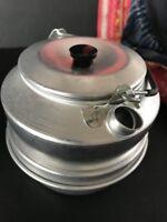 Swedish Trangia Camp Tea Pot & Cook Pot and Lid with Alcohol Stove …beautiful...