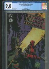 BATMAN/HELLBOY/STARMAN 2 MIKE MIGNOLA ART HARRIS COVER ROBINSON STORY CGC 9.0