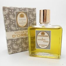 VINTAGE D'Orsay Voulez Vous 240ml-8oz Parfum de Toilette