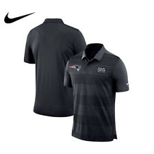 New England Patriots Nike  Anthracite/Black Crucial Catch Polo Size XL