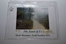 The LAND of OZ Beech Mountain NC Vintage Calendar AP 7/10 Banner Elk