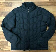 Royal Robbins Down Puffer Coat Women's Medium Black Winter Jacket GUC