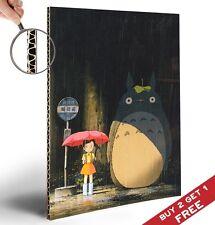 Il Mio Neighbor Totoro A4 Spessa POSTER * Glossy Photo Print Picture * MIYAZAKI MOVIE