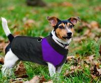Dog Winter Clothes for Small Dogs Wind/Waterproof Coat Warm Jacket Yorkie Purple
