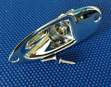 Fender Stratocaster Robert Cray Strat OUTPUT JACK & Screws Chrome Guitar
