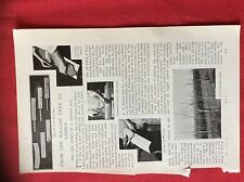 m2n ephemera 1880s article how a cricket bat is made