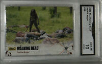 2016 CRYTOZOIC THE WALKING DEAD DOUBLE ANGER #33 MICHONNE CARD GEM MT 10 BY GMA