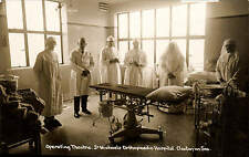 Clacton on Sea. Operating Theatre, St Michael's Orthopaedic Hospital.