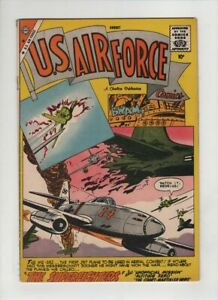 U.S. AIR FORCE #5 VG, ME- 262 first jet fighter cover & story, Charlton 1959