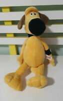 NICI DOG PLUSH TOY STUFFED ANIMAL YELLOW 36CM