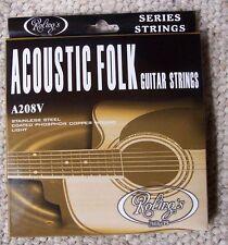 Roling's A208V muta completa 6 corde da 012 a 053 per chitarra Folk-Acustica