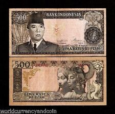 INDONESIA 500 RUPIAH P87 a 1960 *REPLACEMENT SUKARNO DANCER DE LA RUE MONEY NOTE