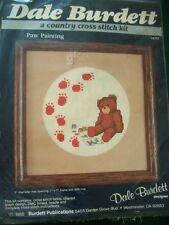 "Dale Burdett ""Paw Painting"" Cross Stitch Kit Size 7"" x 7"""