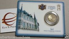 Coincard 2 euro 2004 Henr Lussemburgo Luxemboug Luxembourg Люксембург Luxemburgo