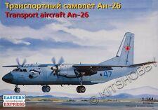 Eastern Express 1/144 Antonov An-26 Military Transport Aircraft