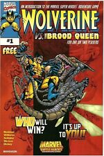 WOLVERINE VS. THE BROOD QUEEN RARE 1999 GIVEAWAY PROMO PROMOTIONAL NM TSR