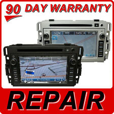 OEM Radio XM REPAIR SERVICE GM Chevy Buick Saturn GPS Navigation CD DVD player