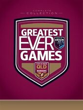State Of Origin - Greatest Ever Games - QLD Complete Collection (12 DVD's)