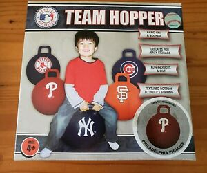 MLB Philadelphia Phillies Team Hopper, Inflatable Kids Toy, New In Box