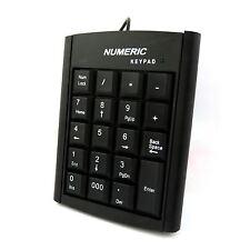 Teclado Numérico número 19 Teclas Pad Teclado contabilidad Cable Usb Para Laptop Pc