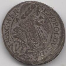 More details for 1691 ian austria leopold i silver 6 kreuzer   european coins   pennies2pounds