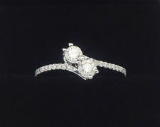 14K Effy White Gold .54 Carat SI1 I Diamond Ring Size 6 1/2