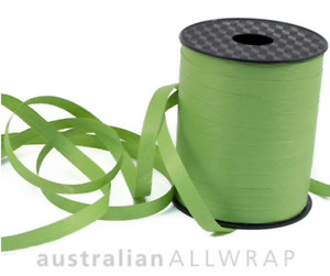 NEW Textured Curling Ribbon OLIVE GREEN 10mm x 250m (Metres)