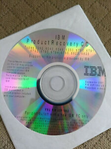IBM NetVista A22p M41 recovery CDs Windows XP Professional