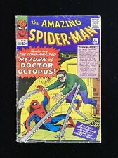 AMAZING SPIDER-MAN #11 (4/64) 2ND APP DOCTOR OCTOPUS SILVER AGE GEM LOWER GRADE