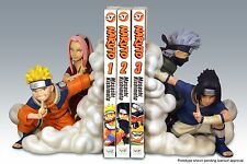 Naruto Team 7 Bookends Resin Statue Number 21 or 22 Of 2000 - Sealed- Low Ed.No.